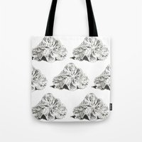 shells Tote Bags featuring SHELLS by sincerelykarissa