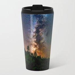 Northern Michigan Milky Way Metal Travel Mug