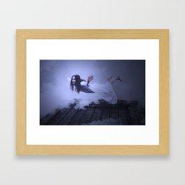 Strange things happen in these woods, III Framed Art Print