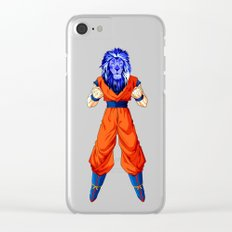 Lion fighter Clear iPhone Case