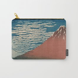 Fine Wind, Clear Weather also known as Red Fuji Carry-All Pouch