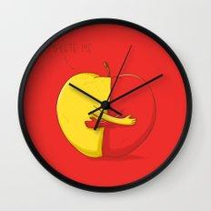One love Wall Clock