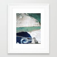surf Framed Art Prints featuring Surf by Bella Blue Photography
