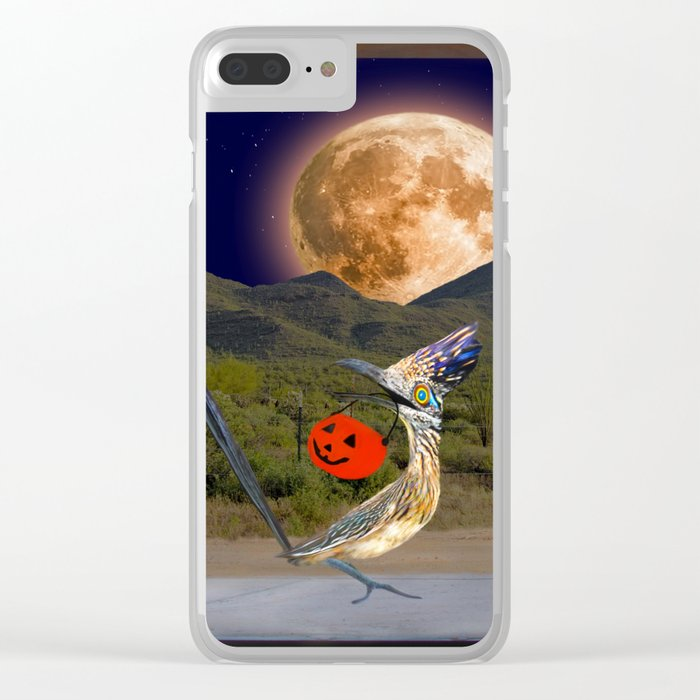 Beep Beep - Happy Halloween from Arizona Clear iPhone Case