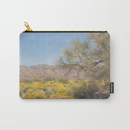 Joshua Tree Wildflowers Carry-All Pouch