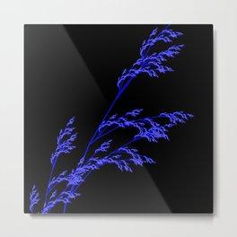 Nature,Minimal,blue Metal Print