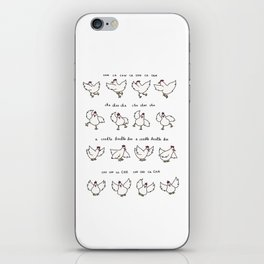 Chicken Dance iPhone Skin