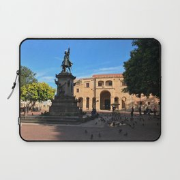 Plaza Colón in Santo Domingo Laptop Sleeve