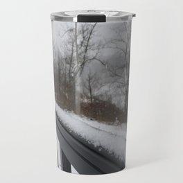 Snowy Rail Travel Mug