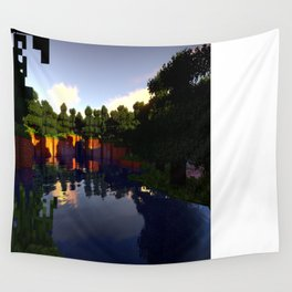 M I N E C R A F T Shaders Wall Tapestry