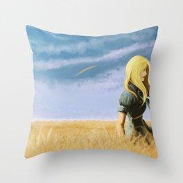 the fields Throw Pillow