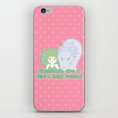 Summons are a Girl's Best Friend iPhone & iPod Skin