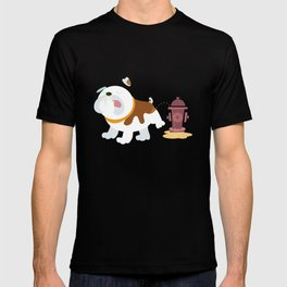 English bulldog T-shirt