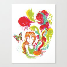 Pop Goes Disaster Canvas Print