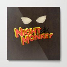 Night Monkey Metal Print
