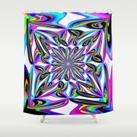 ornate Shower Curtains featuring Ornate by David  Gough
