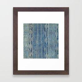 Ndop Cameroon West African Textile Print Framed Art Print
