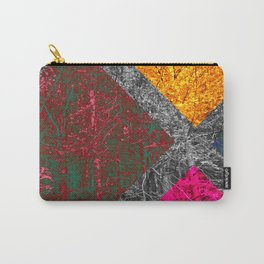 Diamond Forest Carry-All Pouch