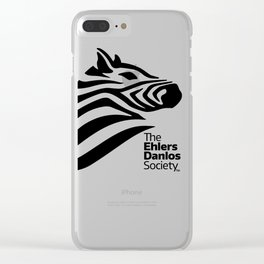 Ehlers-Danlos Society - Big Logo Clear iPhone Case