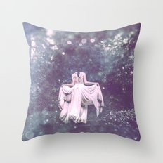 Summer Court Throw Pillow