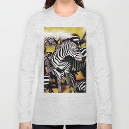 ZEBRA:  GO YOUR OWN WAY Long Sleeve T-shirt