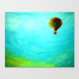 Emotional High Canvas Print