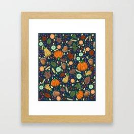 Thanksgiving Framed Art Print