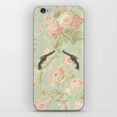 Guns & Flowers iPhone & iPod Skin