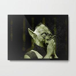 The DalaiYOda Metal Print