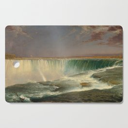 Frederic Edwin Church, Niagara, 1857 Cutting Board
