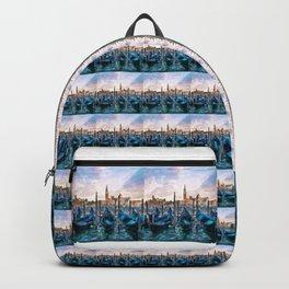 Gondolas in Venice Backpack