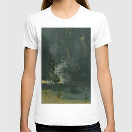 James Abbott McNeill Whistler - Nocturne in Black and Gold T-shirt