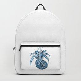 Fish nautical sea blue watercolor Backpack