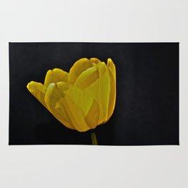 Really Yellow Tulip Rug