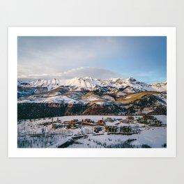 Telluride Landcape Art Print