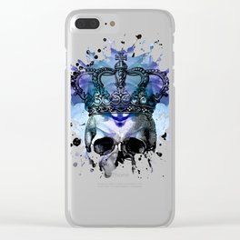 Why Be Blue? Clear iPhone Case