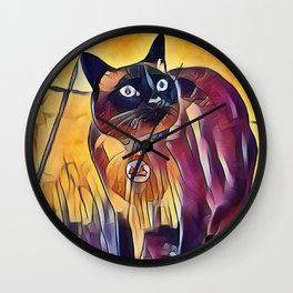 Hey, What About Me? Wall Clock