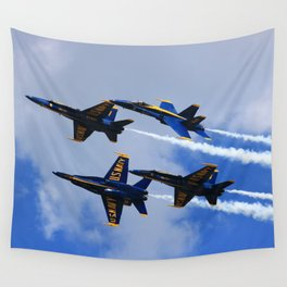 US Navy Blue Angels Wall Tapestry