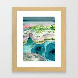 The Secret Spot Framed Art Print