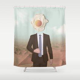 The Eggman Shower Curtain