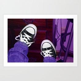Purple tint Art Print