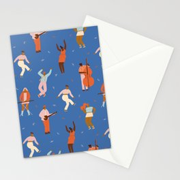 All Night Dance Party Stationery Cards