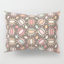 Retro pattern. Beans. Pillow Sham