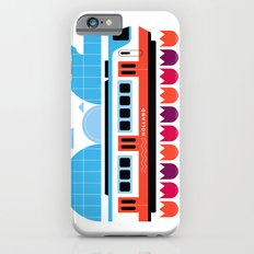 Postcards from Amsterdam / Train and Tulips Slim Case iPhone 6s