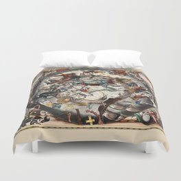 Constellations of the Southern Sky Duvet Cover