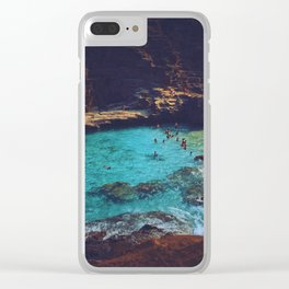 Emerald Sea Clear iPhone Case