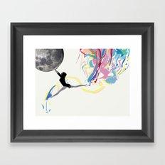 AFTERMOON Framed Art Print