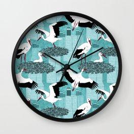 Storks Wall Clock