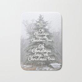 Oh Christmas Tree!  Bath Mat