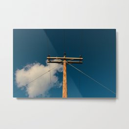 Simple Connections Metal Print